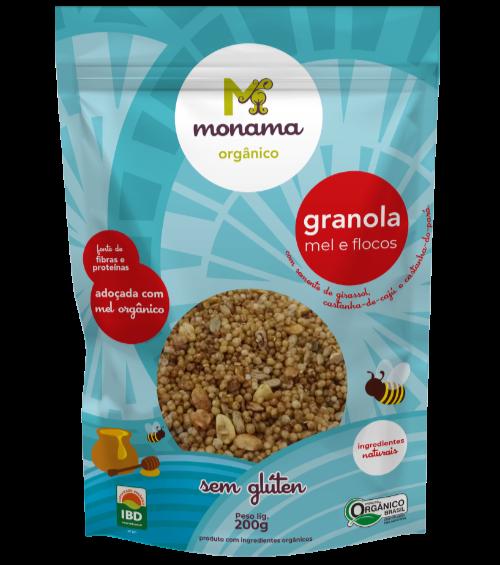 220396 - MONAMA_200g_Granola Mel e Flocos - Sem Glúten_FRENTE