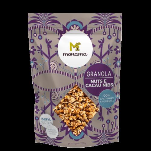 220400 - MONAMA_200g_Granola Nuts e Cacau Nibs - Sem Glúten-thumb