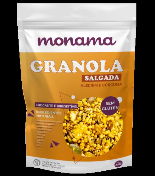 220402 - MONAMA_200g_Granola Salgada de Alecrim e Cúrcuma - Sem Glúten_FRENTE